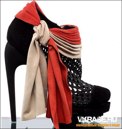 Современная обувь модниц