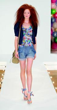 Модные женские шорты лето 2010