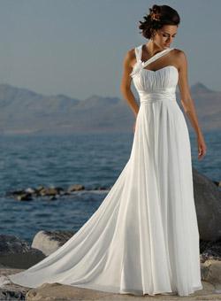 Модные женские свадебные платья лета 2010